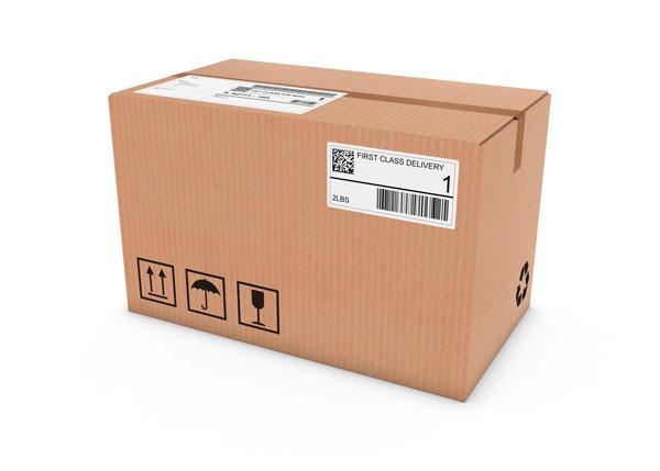наклейка на коробку